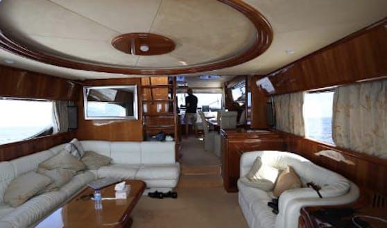 So hätte der Yacht-Urlaub der Lugners ausgesehen.