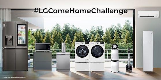 """""""Come Home Challenge"""" von LG Electronics definiert den Wert von Familie und Heim neu."""