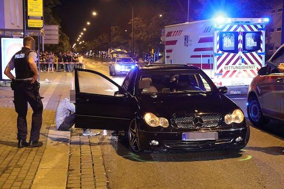 Unfall Budapester Straße Dresden