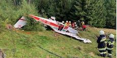 Hagel-Abwehr-Flugzeug stürzt in Unwetter ab