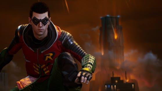 Robin ist Tim Drake, das junge Wunderkind und Genie.