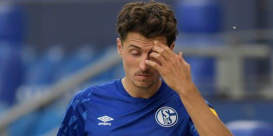 Alessandro Schöpf klagt über Symptome.