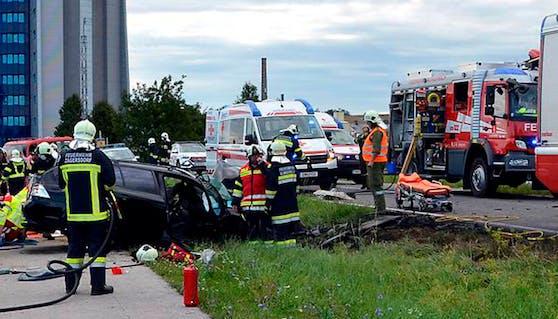 Unfall im Burgenland: 33-jähriger Familienvater ist tot, Bub (1) schwer verletzt