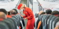 AUA verschärft Maskenpflicht im Flugzeug