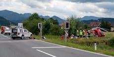 Motorrad-Lenker (17) von Zug erfasst - schwer verletzt
