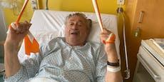 So lange muss Richard Lugner noch im Spital bleiben