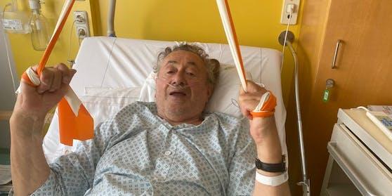 Richard Lugner liegt weiterhin im Spital.