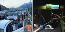 Kärnten entschuldigt sich für Stau-Chaos