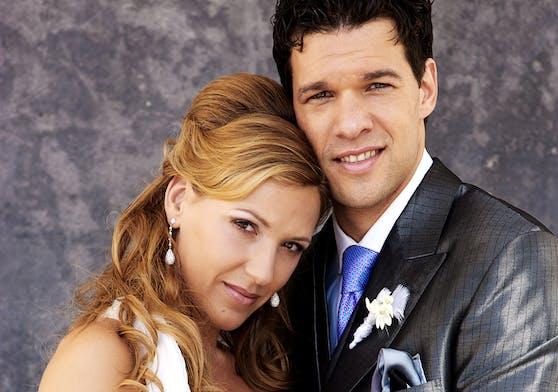 Das Hochzeitsfoto von Michael und Simone Ballack