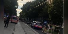 Mann sticht in Wien auf Frau ein, springt aus Fenster
