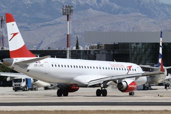 Ein Flugzeug der Austrian Airlines.