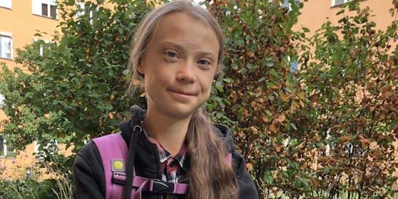 Die 17-jährige Greta Thunberg kehrte nach einem Jahr Absenz wieder in die Schule zurück.