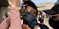 Afroamerikaner nach 8 Schüssen in Rücken gelähmt