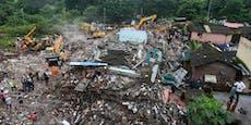 Indien: Wohnkomplex eingestürzt, mehrere Vermisste