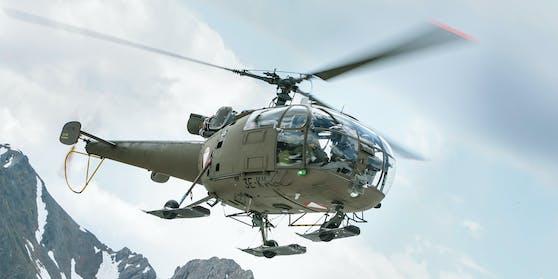 Die Alouette III des Österreichischen Bundesheeres wird ausgemustert
