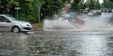 Überschwemmungsgefahr! Österreich zittert vor Tief Lynn