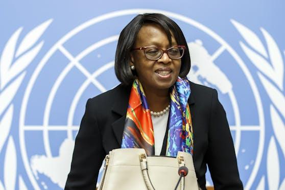 """Die WHO-Regionaldirektorin für Afrika, Matshidiso Moeti, spricht von einem überwundenem """"Höhepunkt""""."""