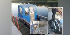 Vandalen setzten Feuerwehr-Boot außer Gefecht
