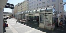 Frau rettet sich bei Regen in Station: 105 € Strafe