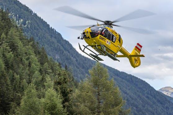 Das Mädchen wurde mit dem Christophorus 7 ins Spital geflogen.