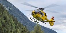 11-Jährige wegen Kopfschmerzen mit Heli vom Berg geholt