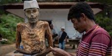 Indonesien: Toraja-Volk lebt mit Toten unter einem Dach