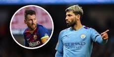 Hat City-Star Aguero den Messi-Deal verraten?