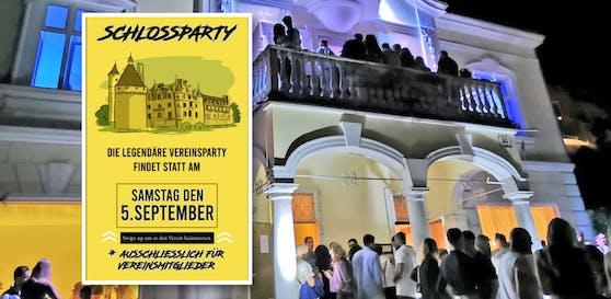 Nach Villa-Party planen die Rich-Kids nun Schloss-Event.