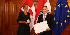 """Stadtchef ehrt Entwicklerin für """"Corona-Gurgeltest"""""""