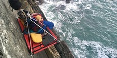 Urlaubsbett in 60 Metern Höhe