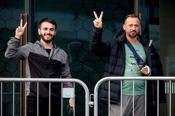 Überlebende des Moscheen-Anschlags in Christchurch sind mit dem Urteil zufrieden (27. August 2020)