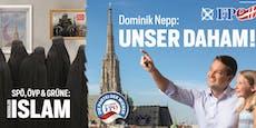 Blonde Mädchen, Burkas: So will die FPÖ in Wien punkten