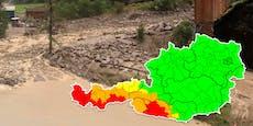 Sintflut-Regen kommt! Warnstufe Rot bereits im Westen