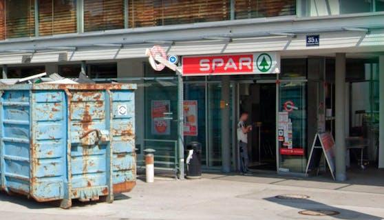 Die betroffene Spar-Filiale in Salzburg-Gneis