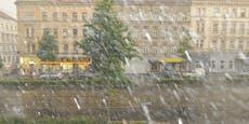 Kaltfront bringt Sintflut-Regen und kräftige Gewitter