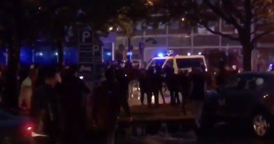 In Malmö ist es zu Gewalt und Ausschreitungen gekommen.