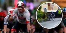 Tour-Auftakt an Kristoff, Lopez kracht gegen Schild