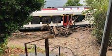 Muren, Überflutungen – Unwetter verwüsten die Schweiz