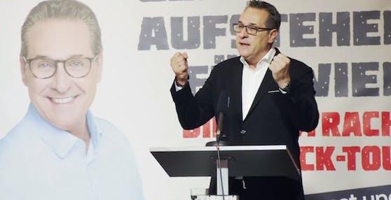 """Strache sieht das Wahl-Debakel als """"Anfang""""."""