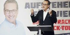 """Strache nach Wahl-Debakel: """"Erst der Beginn"""""""