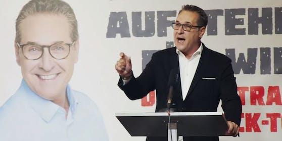 THC-Obmann Heinz-Christian Strache muss weiter zittern.
