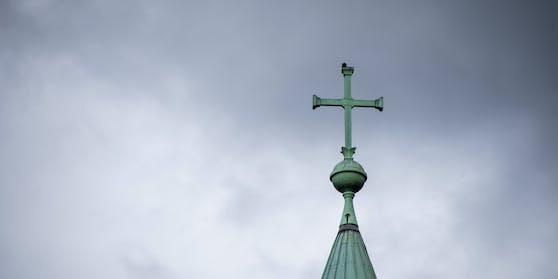 In Graz wurde die Kreuzkirche Ziel eines Vandalenaktes. Symbolbild.