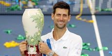 Triumph vor US Open: Djokovic bleibt ungeschlagen