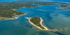 Insel nach 300 Jahren wieder für Besucher offen