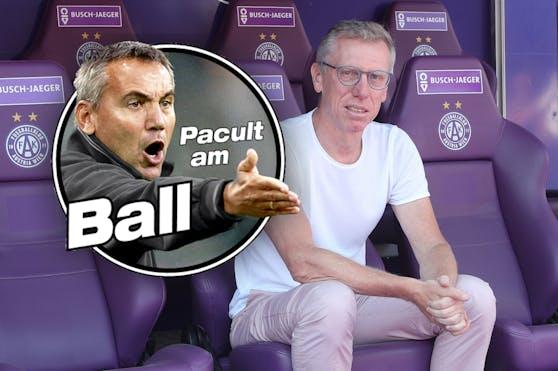 """Heute""-Experte Peter Pacult über Austria-Coach Peter Stöger"