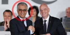 Wird dieser Skandal-Scheich der neue FIFA-Boss?
