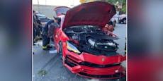 23-Jährige schrottet Lamborghini von Rapper