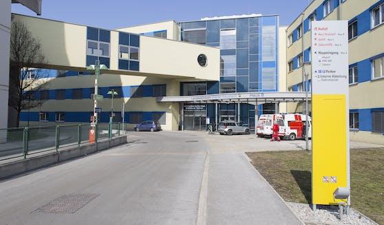Das Landesklinikum Wr. Neustadt.