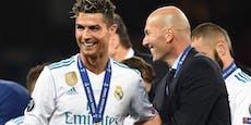 Von Real zu Juve? Zidane soll Ronaldo-Coach werden