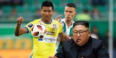 Stürmer muss wegen Kim Jong-un St. Pölten verlassen